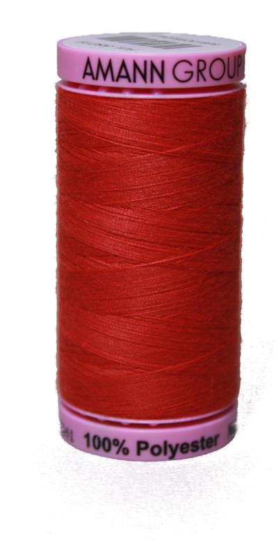 Zwirn 100 % Polyester ASPO PES 120 Amann rot 500 m (0104)