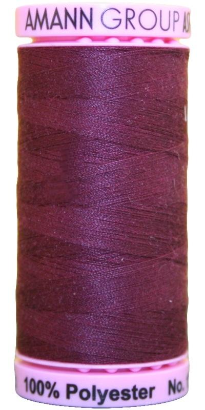 Zwirn 100 % Polyester ASPO PES 120 Amann bordeaux 500 m (0111)