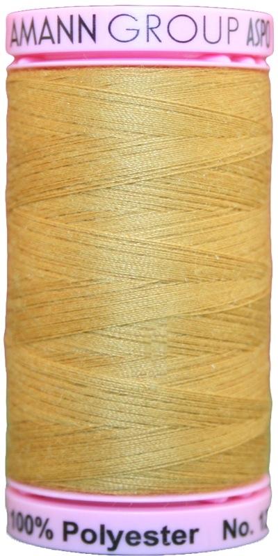 Zwirn Polyester ASPO PES 120 Amann Bernstein Goldsand 500m (1130)