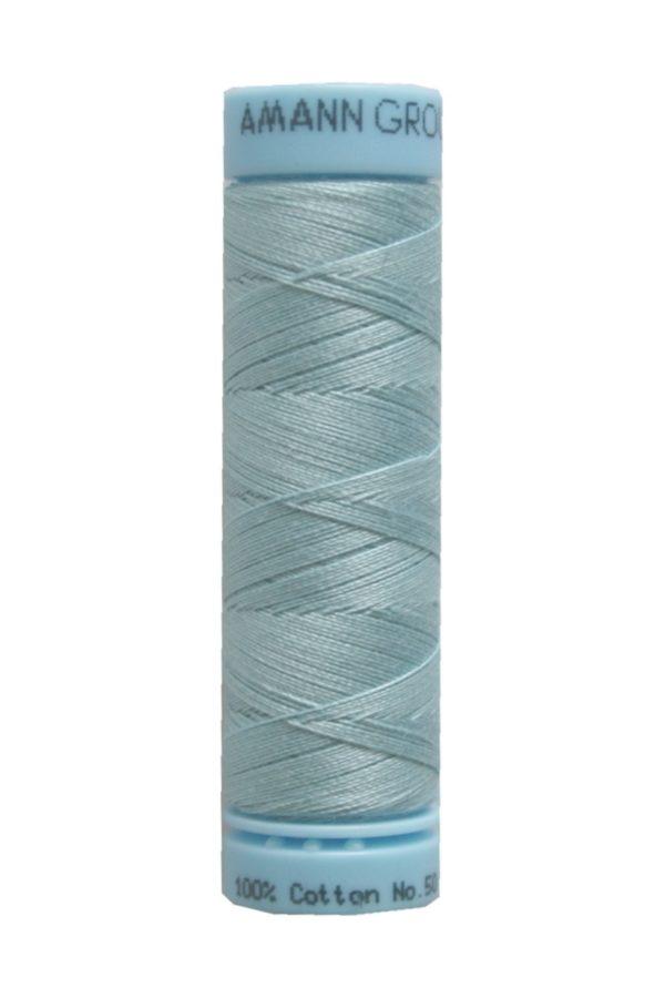 Nähgarn Zwirn TRIANA 100 % Baumwolle 100 m blau türkis (0020)