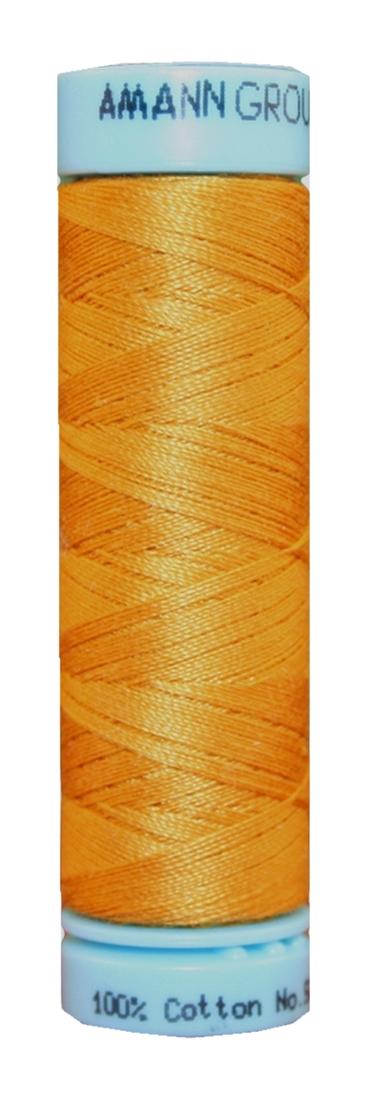 Nähgarn Zwirn TRIANA 100% Bauwolle 100m orange (0608)