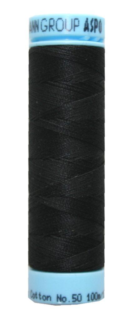 Nähgarn Zwirn TRIANA 100 % Baumwolle 100 m schwarz (4000)