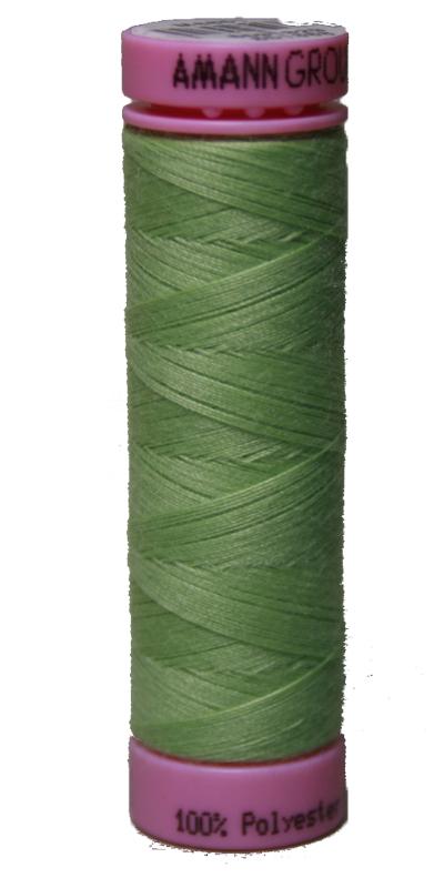 Zwirn 100 % Polyester ASPO PES 120 Amann hellgrün smaragd 100 m (0091)