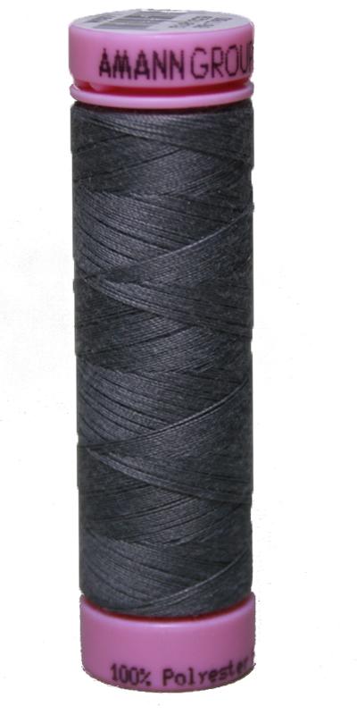 Zwirn 100 % Polyester ASPO PES 120 Amann grau 100 m (0323)