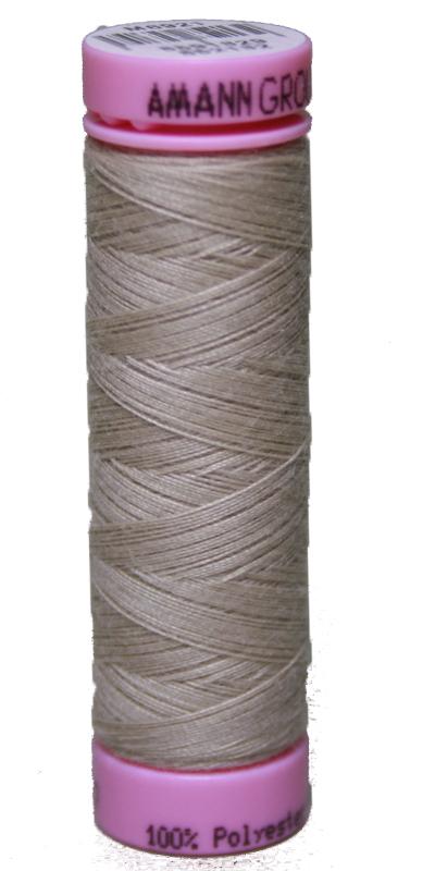 Zwirn 100 % Polyester ASPO PES 120 Amann hellbraun 100 m (0537)
