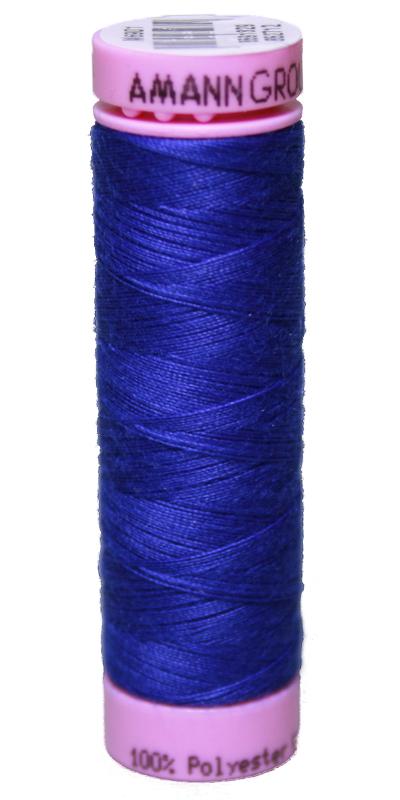 Zwirn 100 % Polyester ASPO PES 120 Amann blau königsblau 100 m (1078)